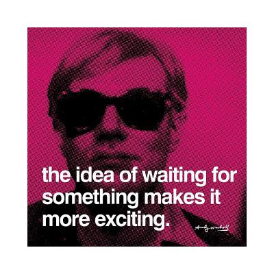 Waiting Giclee Print by Andy Warhol