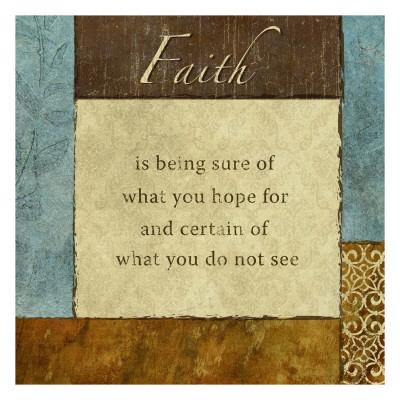 Hot & Cool: Faith Prints by Kristin Emery