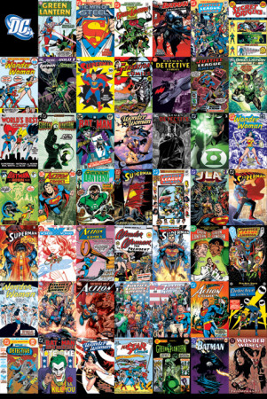 DC Comics  Montage Affiche