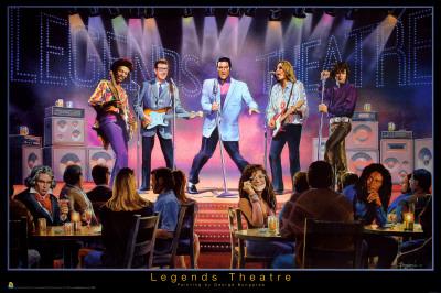Legends Theatre - George Bungarda Posters