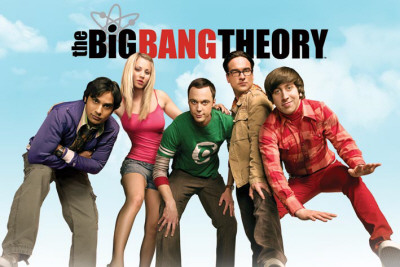 The Big Bang Theory – Sky Affiche