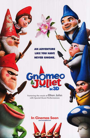 Gnomeo and Juliet Posters