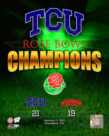 TCU Horned Frogs Rose Bowl Champions Composite Photo