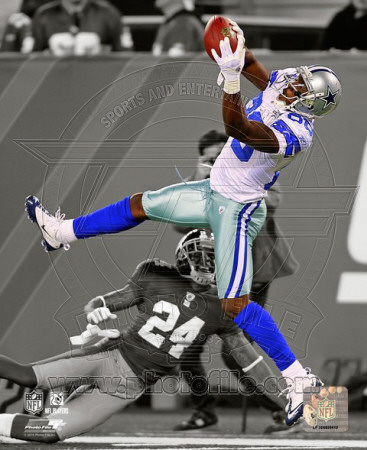 NFL Dez Bryant 2010 Spotlight Action Photo