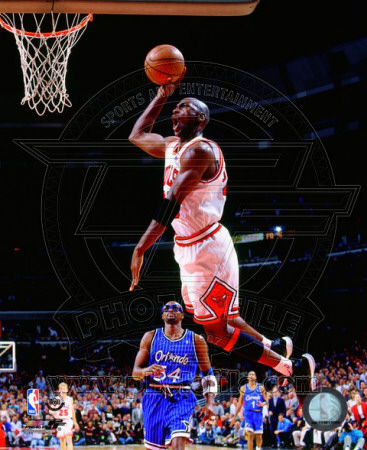 NBA Michael Jordan 1994-95 Action Photo