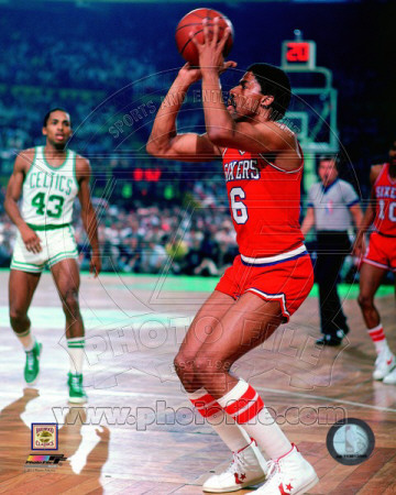 Julius Erving 1982 Action