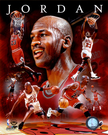 michael jordan   scale  away figurine by enterbay