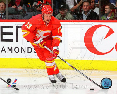 Olli Jokinen 2010-11 Action Photo