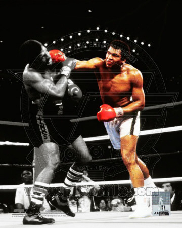 Muhammad Ali Vs. Leon Spinks Las Vegas, NV. 1978 Spotlight Action Photographie