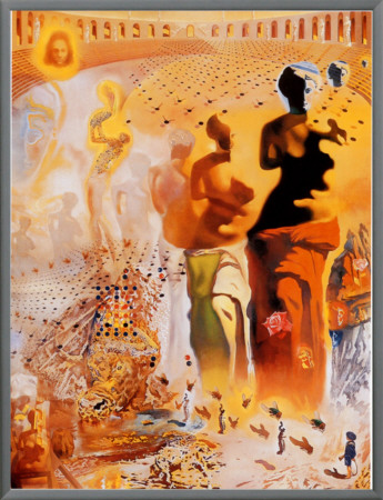 The Hallucinogenic Toreador, c.1970 Framed Canvas Print