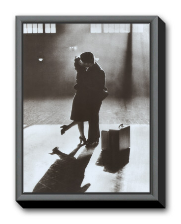Eternal Kiss Framed Canvas Print