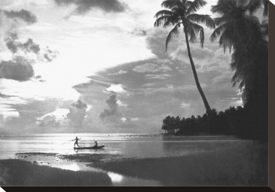 Tahiti, 1938 Stretched Canvas Print