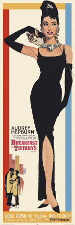 AVELA - Breakfast at Tiffany's Door Poster