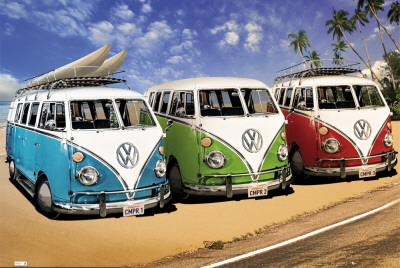 VW CAMPERS Juliste