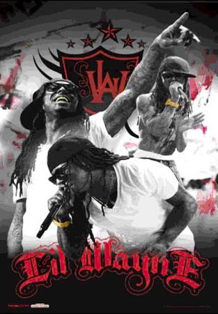 Lil Wayne Concert Poster. Lil Wayne - 3D Poster 3