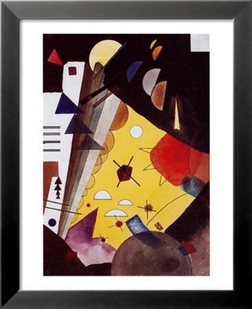 Tension in Height Lamina Framed Art Print