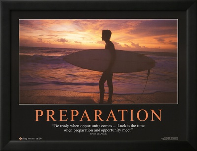 Preparation Lamina Framed Art Print
