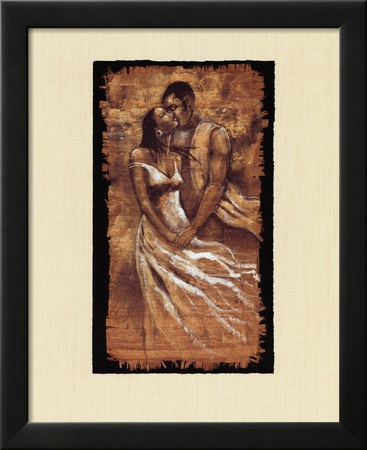 Whisper Lamina Framed Art Print