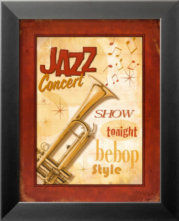 New Orleans Jazz I Lamina Framed Art Print