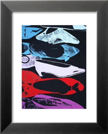 Diamond Dust Shoes, c.1980-81 (Parallel) Lamina Framed Art Print
