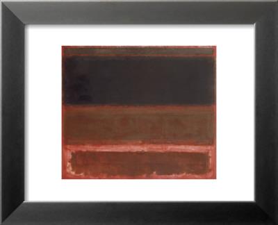 Four Darks in Red, 1958 Stampa di Mark Rothko