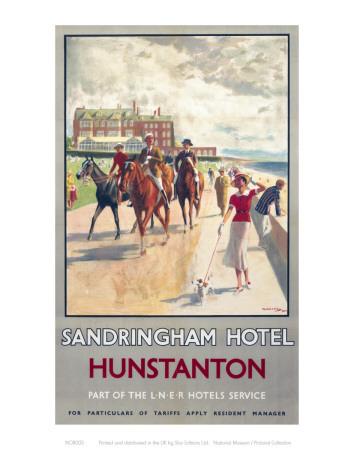 Sandringham Hotel Hunstanton Print