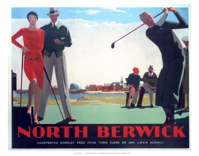 North Berwick Posters