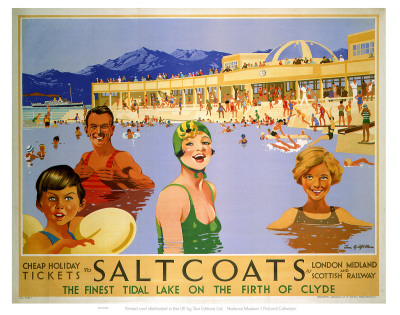 Saltcoats on the Firth of Clyde Poster
