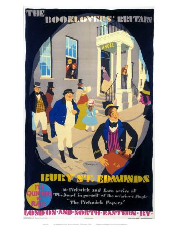 Bury the Booklover Britain Prints