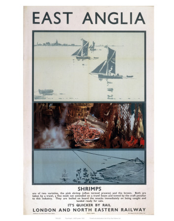 East Anglia Shrimps Prints