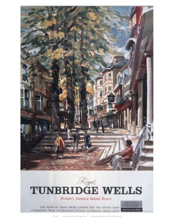 Royal Tunbridge Wells Street Poster