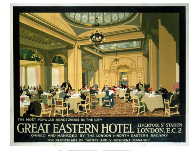 Great Eastern Hotel Prints