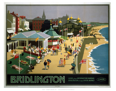 Bridlington Sea Front Art Print