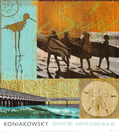 Surf Journal II Prints by Wade Koniakowsky