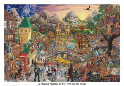 Eine magische Mystery-Tour (von 100 Beatles Songs), Englisch Foto