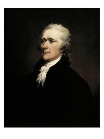 Alexander Hamilton Poster by John Trumbull