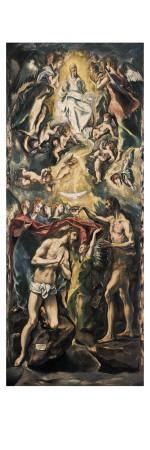 Kristi dåb Kunsttryk