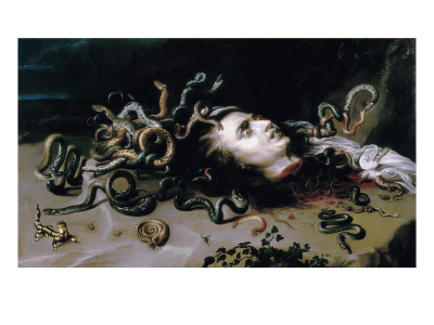 Head of Medusa Prints by Peter Paul Rubens