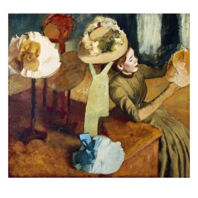 The Millinery Shop, 1879/86 Prints by Edgar Degas