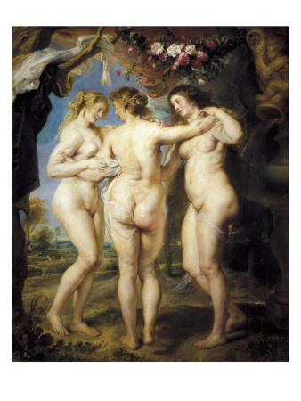 The Three Graces Prints by Peter Paul Rubens