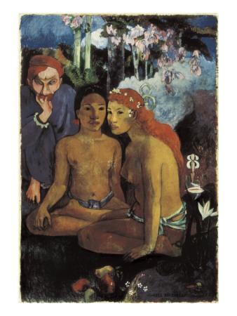 Primitive Tales Poster by Paul Gauguin