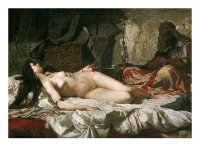 Odalisque Posters by Mariano Fortuny y Marsal