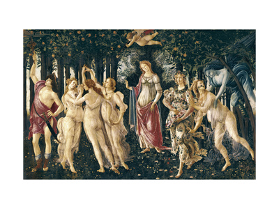 The Spring Prints by Sandro Botticelli