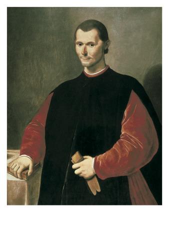 Portrait of Niccolo Machiavelli Prints by Santi Di Tito