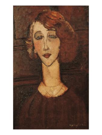 Renée Prints by Amedeo Modigliani