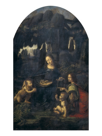 The Virgin of the Rocks Prints by  Leonardo da Vinci