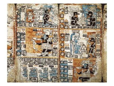 Trocortesian or Madrid Codex Print