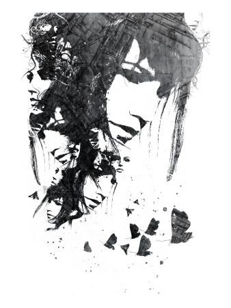 Moth Print by Alex Cherry