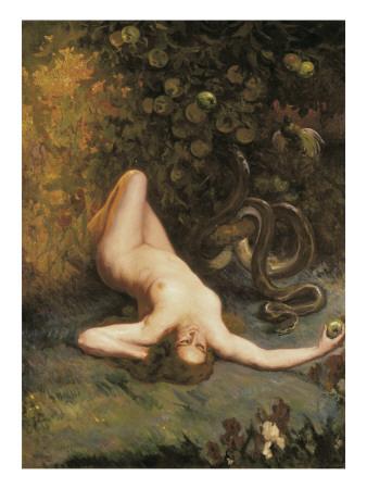 Eve Print by Carlos Verger