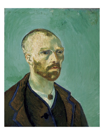 Self-Portrait Dedicated to Paul Gauguin Posters by Vincent van Gogh